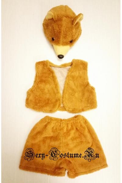 Детский костюм бурого медведя lu1115