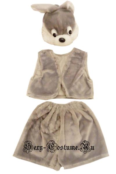 Детский костюм зайчик lu1117-1
