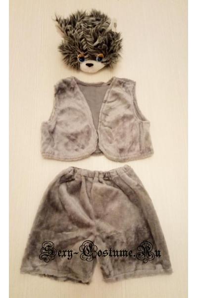 Серый кот мартын сказочный s1215