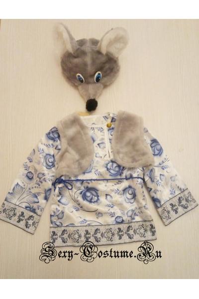 Детский костюм мышки в народном стиле lu3232
