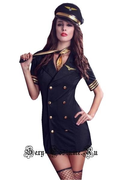 Пилот воздушного судна униформа стюардессы nightks lu1023