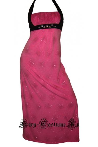 Розовое платье с блестянками последняя модель уценка ооо марбин n1234