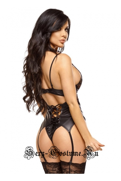 Корсет черный для уверенной в себе девушки beauty night shaina corset