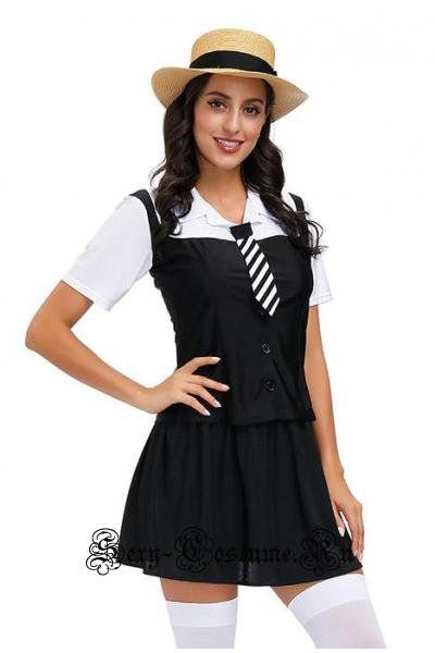 Черная школьница элитной школы m20600