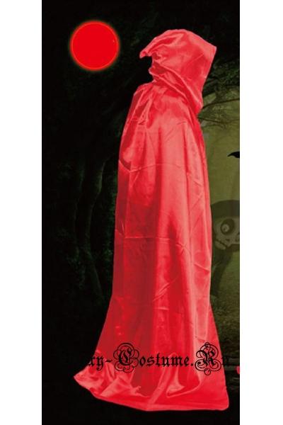Красный плащ с капюшоном незнакомца m20076