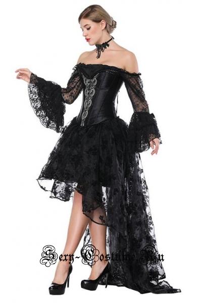 Готическая принцессакорсетный костюм m18220