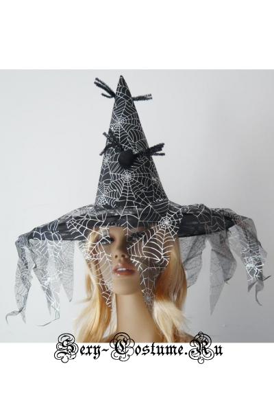 Шляпа ведьмыколпак ведьмочки m2917