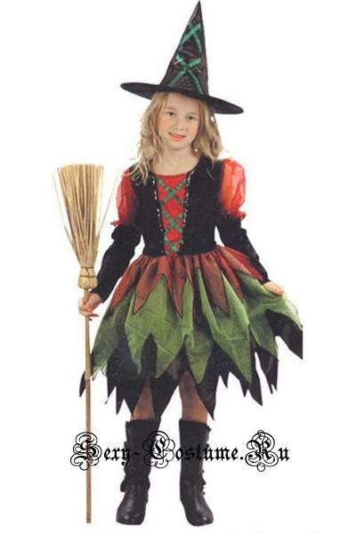 Детский ведьмочка девочкамаленькая ведьма m5967