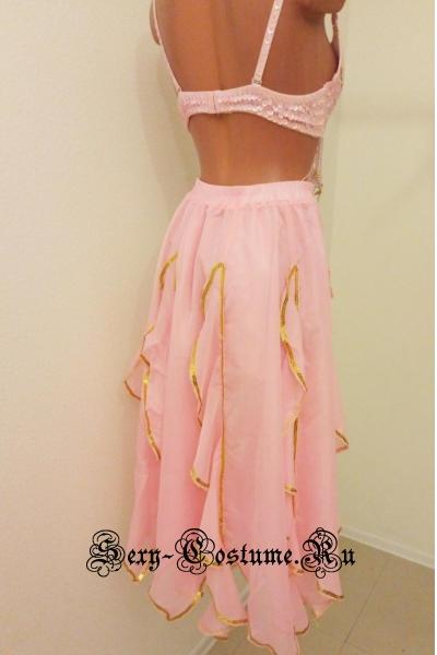 Восточная танцовщица светло-розовая раздельная  lu1015-7