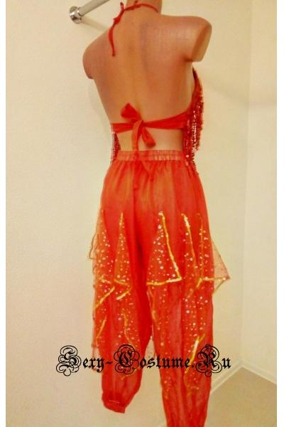 Восточная танцовщица красная lu1130-3