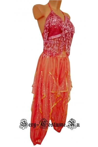 Восточная танцовщица розовая lu1130-5