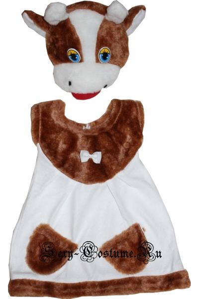 Детский костюм коровушкателенок для девочки lu2515
