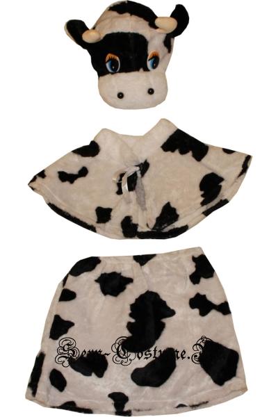 Детский костюм пятнистый теленок (девочка) lu2518