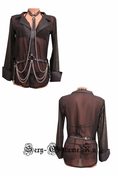 Ремешок для тела с панк-поясом из искусственной кожи nightks lu0246