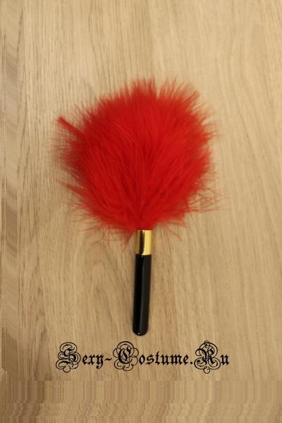 Маленькая щекоталка красно+ черная 18см nightks lu300-2