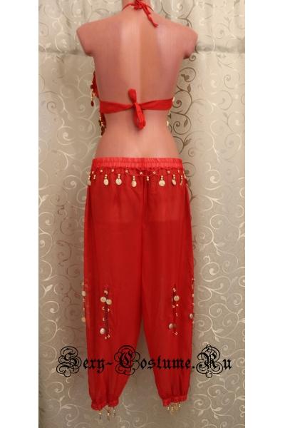 Восточная танцовщица красная уценка lu600-1