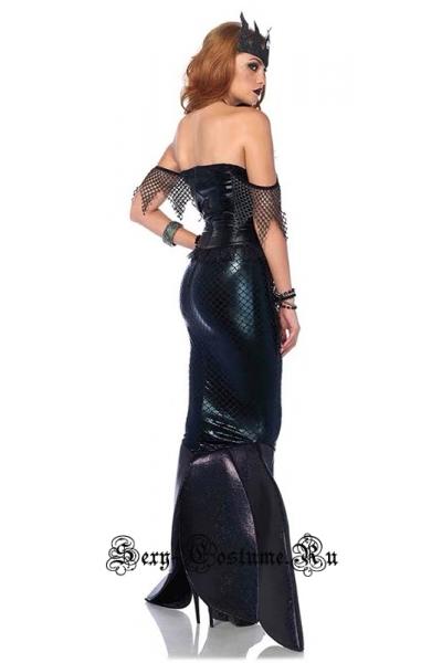 Русалочка черная красотка w9006