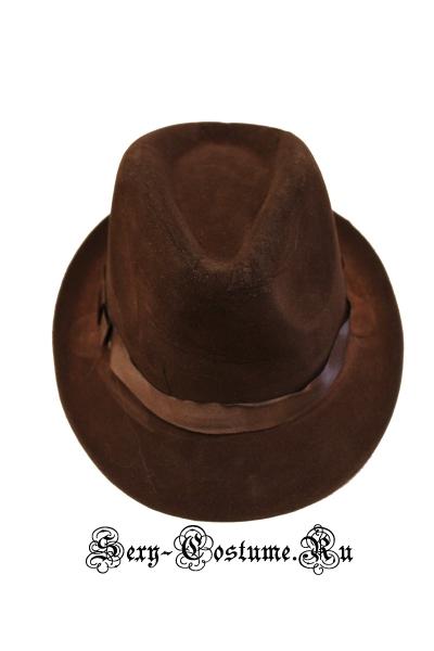 Шляпа баварца коричневая w0001