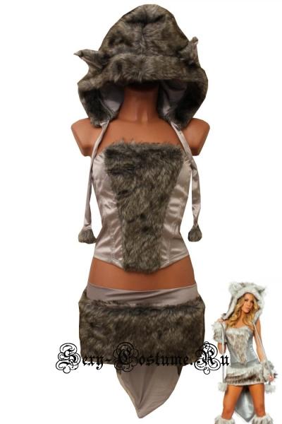 Дикая кошечка меховой костюм клуб p4538b