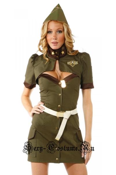 Девушка сержант нато военный во20