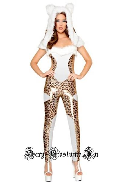 Леопард тканевый комбинезон d1993