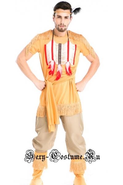 Индеец краснокожий брат m4788