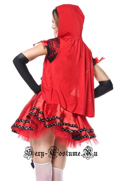 Красная шапочка пышная юбка m5102