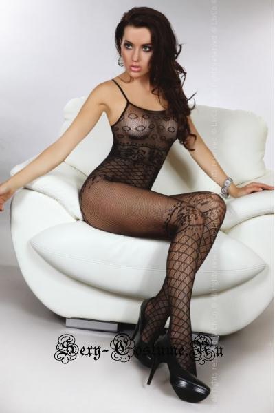 Капроновый комбинезон кэтсьют девушка livia corsetti flavia