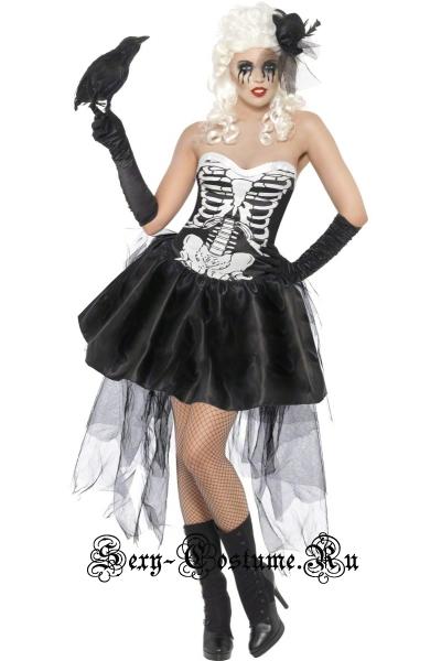 Скелет девушки кан-кан m5450