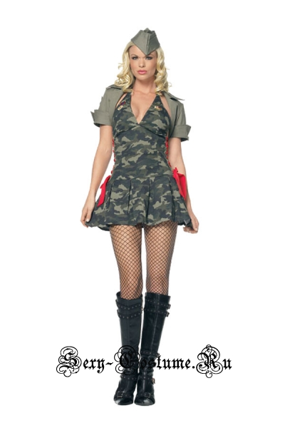 Военный с красной шнуровкой m1519