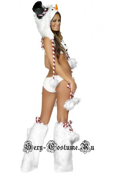 Сексуальный снеговичок танец гоу-гоу m6355