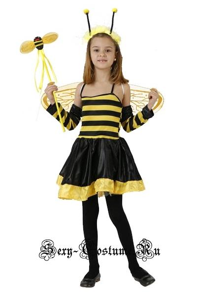 Черно-желтая пчелка для девочки (детский) уценка n5987