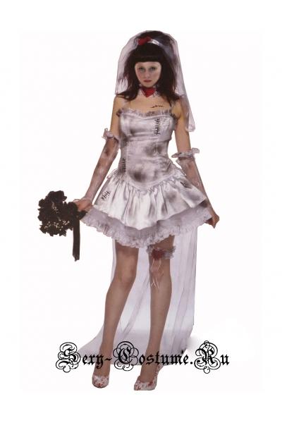 Костюм мертвая невеста - зомби m3194