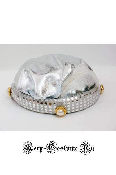 Шляпа султана серебро