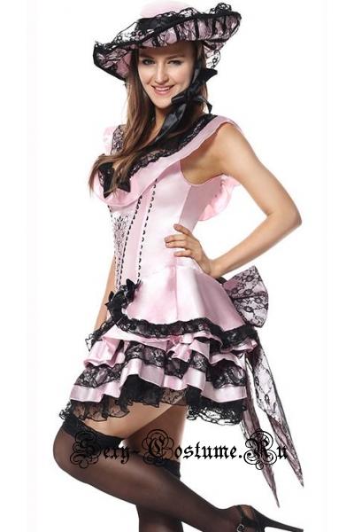 Светло-розовая принцессазвезда сцены m9048