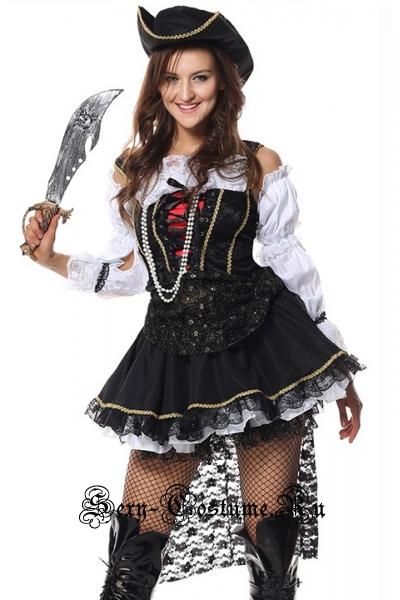 Стильная пираткавожак абордажной команды m6676
