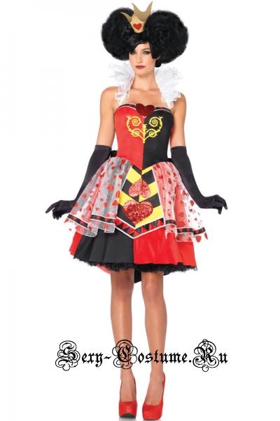 Червовая королева хеллоуин m9370