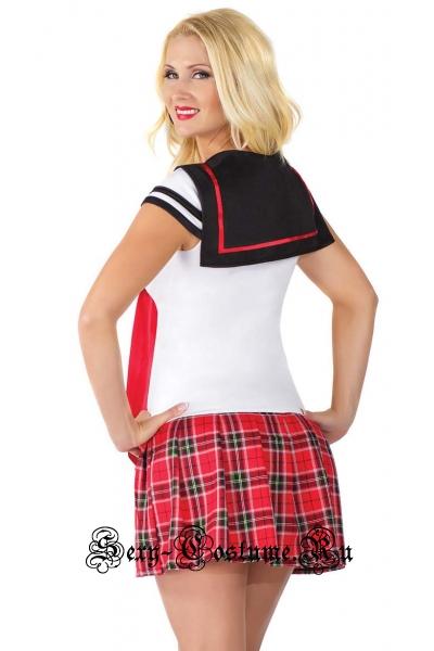 Школьница девочка морячка аниме m1004