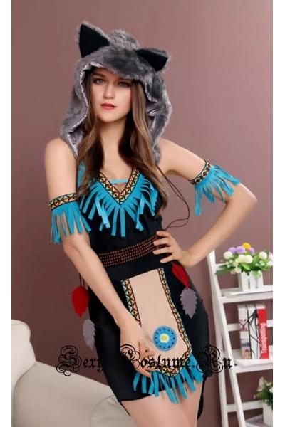 Индианка скво шаман племени m9933
