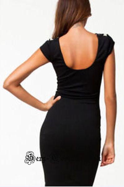 Желтое платье с черным клуб 21548-4