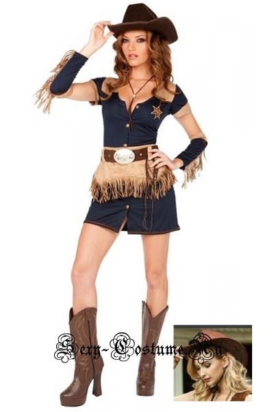 Девушка-ковбой хозяйка ранчо t373