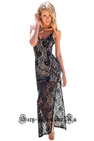Белое платье клубное белое с черным n6825